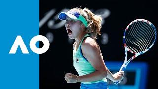 Ash Barty vs Sofia Kenin - Match Highlights (SF) | Australian Open 2020