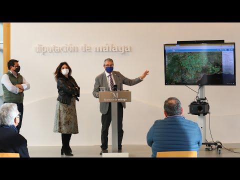 Presentación del geoportal provincial: imágenes aéreas, mapas e información estadística de Málaga