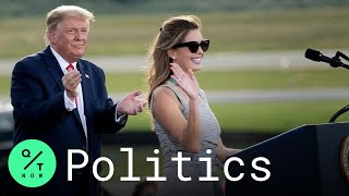 Trump Calls Hope Hicks on Stage at Ocala, Florida Rally After Covid-19 Tests