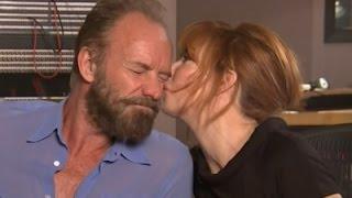 Sting and Mylene Farmer's Hot Music Video