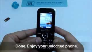How To Unlock Alcatel One Touch 1040 (1040, 1040X and 1040D) by Unlock Code.