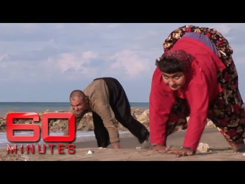 Amazing! A village where members walk on all fours