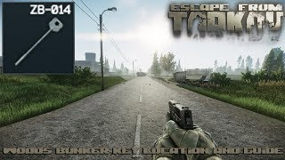 "Escape From Tarkov - Woods Bunker Key ""ZB-014"" Location and Guide"