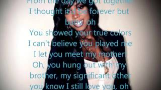 Future feat Kelly Rowland-Neva End (lyrics)