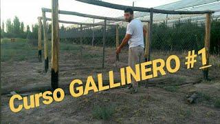 COMO HACER UN GALLINERO CASERO CON PALETS🐣🐤🐓 CURSO GALLINERO #1 GRATIS!! 🍻 SUSCRÍBETE!!