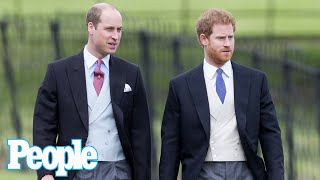 Prince William and Prince Harry Won't Walk Next to Each Other at Prince Philip's Funeral | PEOPLE