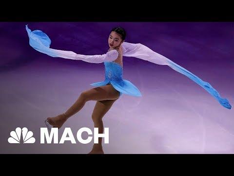 How 2018 USA Olympian Karen Chen Became Figure Skating's 'Quiet Assassin' | Mach | NBC News