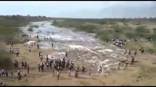 Kalavapalli River Begins its Flow After 20 Years