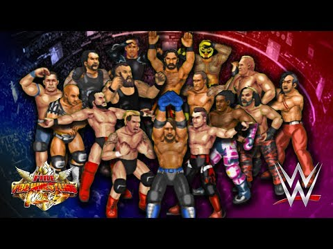 EPIC 30-MAN ROYAL RUMBLE!! | Fire Pro Wrestling World (WWE Rumble)