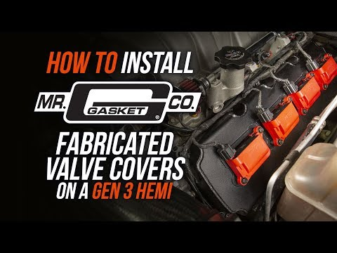 How To Install Mr. Gasket Fabricated Valve Covers on a Gen 3 HEMI