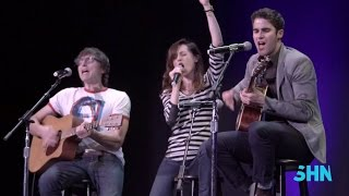 "Darren Criss, Lena Hall & Stephen Trask: ""Sugar Daddy"" & ""Midnight Radio"" from Hedwig"