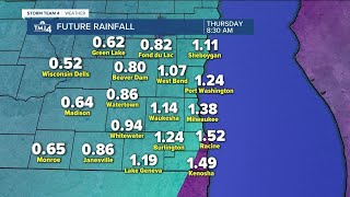 Milwaukee weather Tuesday: Morning fog, showers and storms likely late