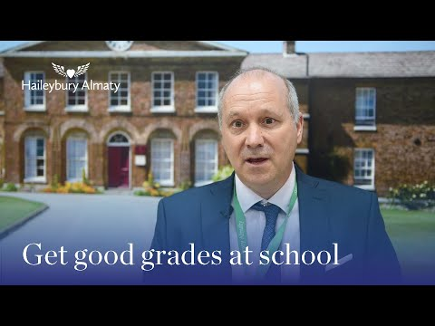 Get good grades at school