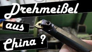 Werkzeugtest Drehmeißel aus China   Wendeplattenhalter Drehmaschine   Billig Werkzeug aus China ?