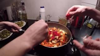 Soljanka, solanka, russian hangouver soup