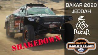 Shakedown & horrible crash, Dakar 2020 in Jeddah with Beast 3.0 Coronel Maxxis Dakar