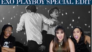 EXO PLAYBOY SPECIAL EDIT EXOLUTION PERFORMANCES REACTION || TIPSY KPOP