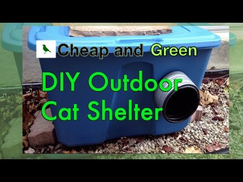 Make Your Own Outdoor Cat Shelter Workshop with Feline Friends Network