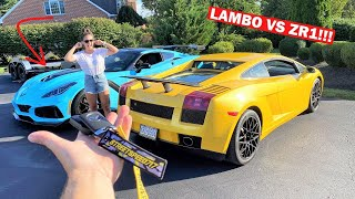 My Neighbors HATE Me... $10,000 FABSPEED Lamborghini Exhaust is LOUDER Than My 1,000HP ZR1!!!