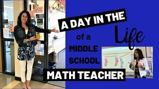 A Day In The Life Of A Middle School Teacher | Episode #1 | Teacher Vlog