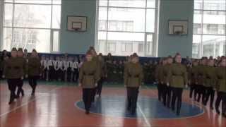 Смотр строя и песни Гимназии №21, г.Тюмень