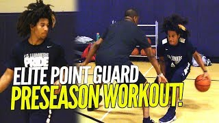 Tyger Campbell Point Guard Skills Workout!!