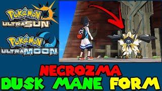Pokemon Ultra Sun & Moon - Necrozma Dusk Mane Form Battle