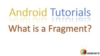 #101 Fragments in Android: Android Application Development Tutorial [HD 1080p]
