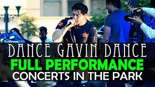 Dance Gavin Dance - FULL SET! LIVE! Concerts In The Park Sacramento