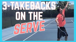 Three Ways To Take Your Racquet Back On The Serve
