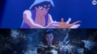 NEW 'Aladdin' Teaser vs. Original - Side by Side Comparison