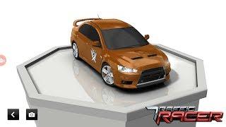 Купил машину  Mitsubishi!В игре traffic racer!