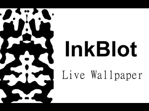 Video of InkBlot Live Wallpaper