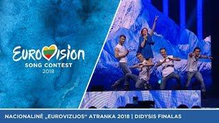"""Moniqué - """"Nenoriu grįžt namo"""" - Didysis Eurovizijos atrankų finalas 2018"""