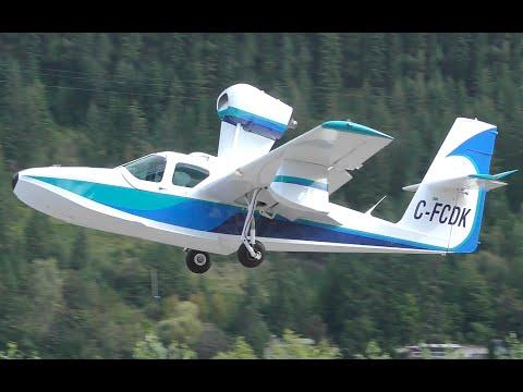 Lake LA-4-200 Buccaneer Amphibian Takeoff