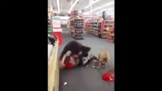 Dude got in the face and bitten by a dog