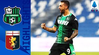 Sassuolo-Genoa 5-0, highlights