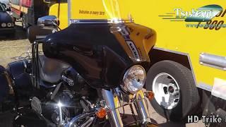 Harley-Davidson Freewheeler 6x9 and Double Boox Fairing