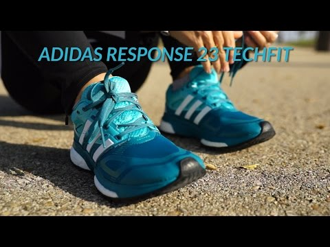 Review Zapatillas Running adidas Response 23 Techfit (mujer)