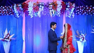 Muslim Wedding Reception Highlight/ Shaziya Waseem/Bangalore