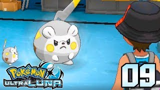 Togedemaru  - (Pokémon) - Pokémon Ultraluna Gameplay en Español Ep 9 - EL TOGEDEMARU DOMINANTE DEL CAPITAN CHRIS