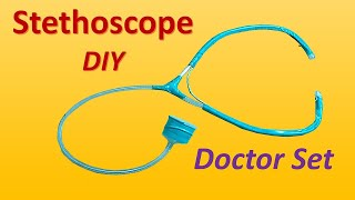 How to make stethoscope at home