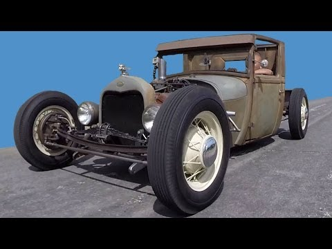 1929 Ford Model A Truck Hot Rod Rat Rod