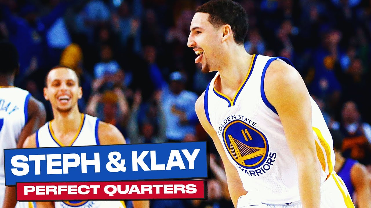 Every Steph & Klay PERFECT Shooting Quarters 👌🔥