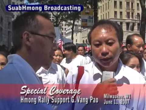 Suab Hmong Radio Special Coverage on Hmong Wisconsin Rally to support VP part 2 of 2