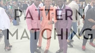 Pattern Matching - Mens Style Tips
