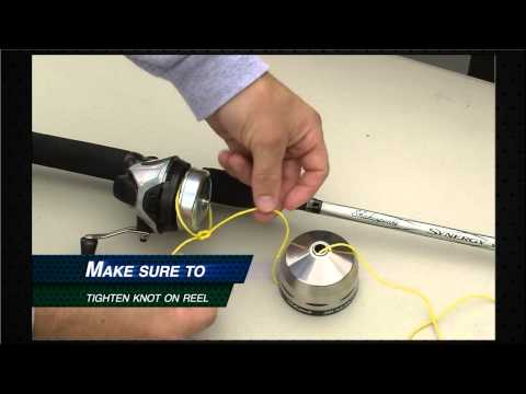 Shakespeare: How to Re-spool a Spincast Reel (Dunham's Sports)
