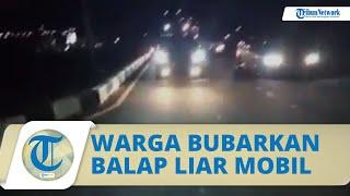 Video Detik-Detik Warga Solo Bubarkan Balap Liar Mobil di Jalan Ring Road: Bubar, Ganggu Mas