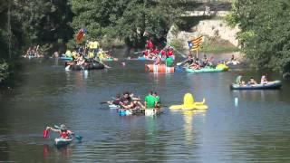preview picture of video 'Sisena baixada d'ànecs a Pont de Molins'