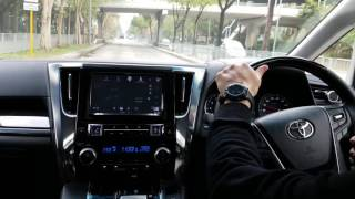 Rico TOYOTA 30系 Vellfire 2.5 車主試車即場感受測試結果原來裝完 DTE Pedalbox 分別可以有吟大及評價……